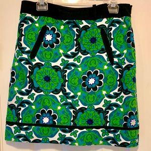 Ann Taylor Cotton Spring skirt